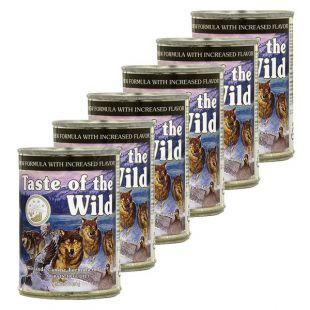 TASTE OF THE WILD Wetlands Canine - konzerv, 6 x 390g