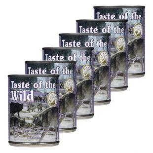 TASTE OF THE WILD Sierra Mountain Canine - konzerv, 6 x 374g