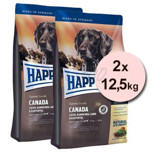 Happy Dog Supreme Canada 2 x 12,5kg