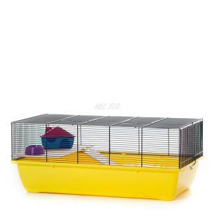 Egereknek és hörcsögöknek való ketrec CHARLIE MOUSE COLOR