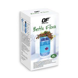 Akvárium OF - Betta Flora 2L - fekete
