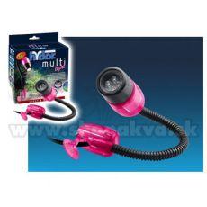 Hydor MULTI-LIGHT, LED fehér fény - rózsaszín fedél