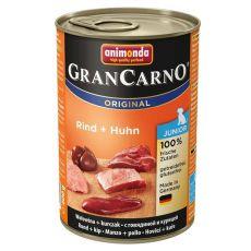 GranCarno Original Junior konzerv marha + csirke - 400g