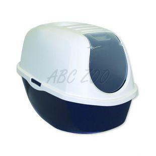 Macska WC fedéllel MAGIC CAT, kék - 39x53x41cm
