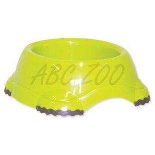 Műanyag tál kutyáknak- zöld, 735ml