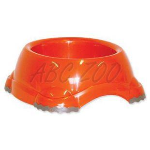 Műanyag tál kutyáknak  - narancssárga, 1245ml
