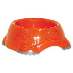 Dog Fantasy kutyatál - narancssárga, csúszásgátlóval, 315 ml