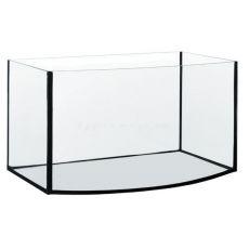 Akvárium, ovális formájú 40x25x25cm / 25L