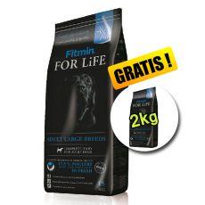 Fitmin FOR LIFE Adult Large Breeds 15+2kg INGYEN