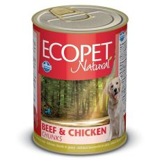 Farmina MO P ECOPET dog Bicolore Beef & Chicken konzerv 1250 g