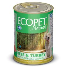 Farmina MO P ECOPET dog Beef & Turkey & Vegetables konzerv 1250 g