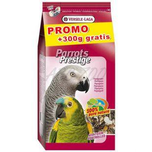 Parrots Prestige - eledel nagy papagájoknak 3 kg + 300 g INGYEN
