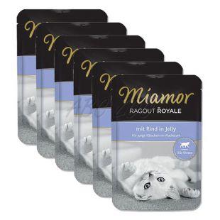 MIAMOR Ragout Kitten alutasakos marhahús 6 x 100 g