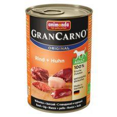 GranCarno Original Adult oknzerv marhahús és csirke - 400g
