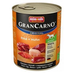 GranCarno Original Adult konzerv marhahús és csirke - 800g