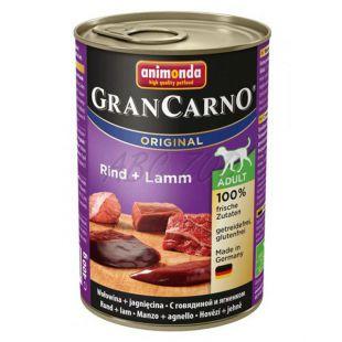 Gran Carno Fleisch Adult, marhahús és bárányhús - 400 g