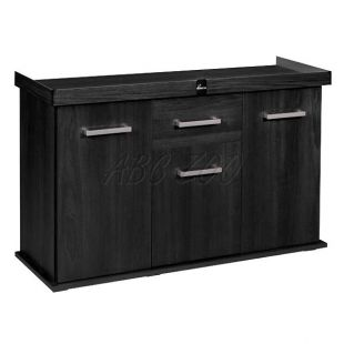 DIVERSA Solid akvárium bútor 80x35x75 cm - Fekete