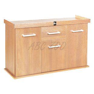DIVERSA Solid akvárium bútor 120x40x75 cm - BÜKK