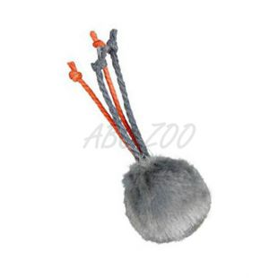 Plüss játék csengővel és zsinórral- 4 cm