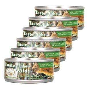 TASTE OF THE WILD Rocky Mountain Feline - konzerv, 6 x 155g