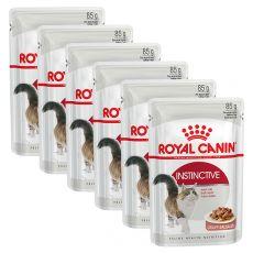 Royal Canin INSTINCTIVE 6 x 85g alutasakos macskaeledel