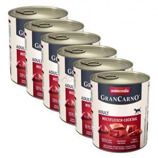 GranCarno Original Adult konzerv húskeverék - 6 x 800g