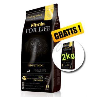 Fitmin FOR LIFE Adult Mini 15+2 kg INGYEN