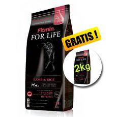 Fitmin FOR LIFE Adult Lamb & Rice 15+2 kg ajándék