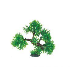 Műanyag akváriumi növény KB – 013 - 23 x 5 x 25,5 cm