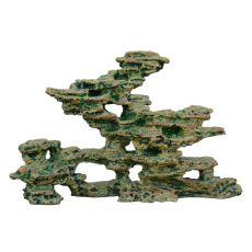Akváriumi dekoráció 2231 - Nyílásokkal díszített szikla