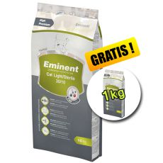 Eminent Cat Light / Sterile 10 kg + 1 kg GRÁTISZ
