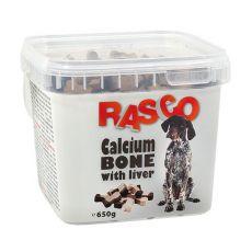 RASCO jutalomfalatok - csont kalciummal és májjal, 650g