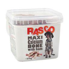 RASCO jutalomfalatok - maxi csont kalciummal és sonkával, 570g