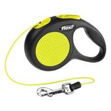 Flexi póráz Neon XS 8kg-ig  - 3m zsinór