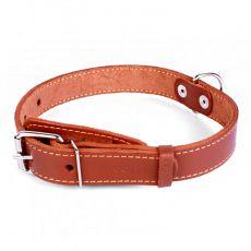 COLLAR bőr nyakörv kutyáknak- 38 - 50cm, 25mm - barna