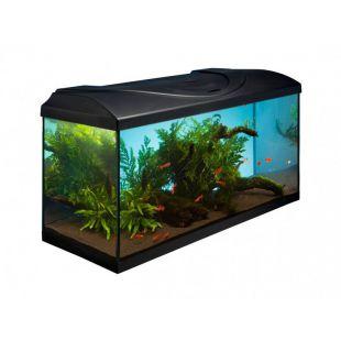 Egyenes DIVERSA STARTUP 80 akvárium szett - fekete