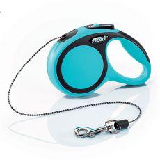 Flexi NEW COMFORT póráz XS 8kg-ig, 3m kötél - kék