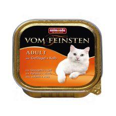 Animonda Vom Feinsten Adult Cats - baromfi és borjú 100g