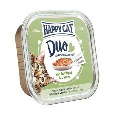 Happy Cat DUO MENU - csirke és bárány, 100g