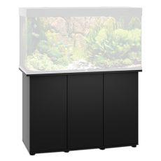 JUWEL Rio 300, SB 125 fekete akváriumi bútor, 121x51x80