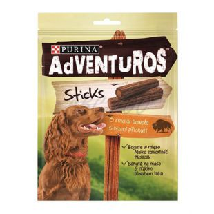 Purina ADVENTUROS Sticks - bölény 4ks, 120g