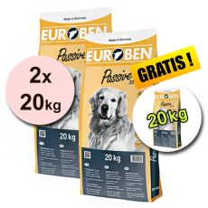 EUROBEN 22-8 Passive, 2 x 20kg + 20kg GRATIS