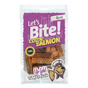 "BRIT Lets Bite - Cod ""N"" Salmon, 80g"