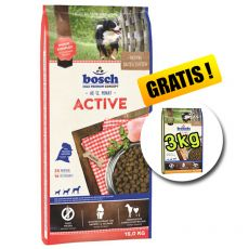 Bosch ACTIVE 15 kg + 3kg Adult Poultry and Millet GRÁTISZ