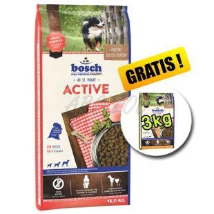 Bosch ACTIVE 15 kg + 3kg Adult Poultry and Millet GRÁTISZ