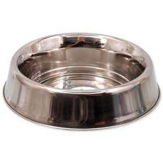 DOG FANTASY rozsdamentes acél tál gumis aljjal - 0,24L