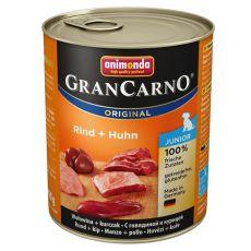 Konzerv GranCarno Original Junior marha + csirke - 800g