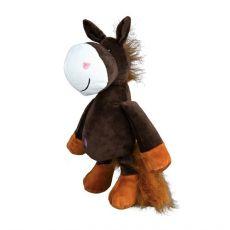Plüss játék kutyák számára, ló - 32cm