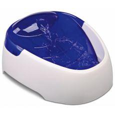 Vízadagoló  szökőkút kutyák számára TRIXIE - fehér - kék, 1L