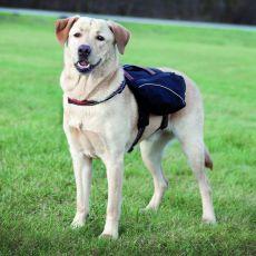 Hám kutyáknak táskával, L - 29 x 15 cm